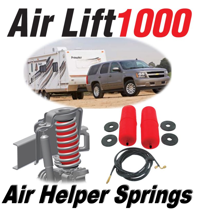 Air Lift AirLift1000 60818 Rear Spring Bags