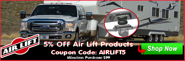 Coupon for Air Lift Air Spring Kits