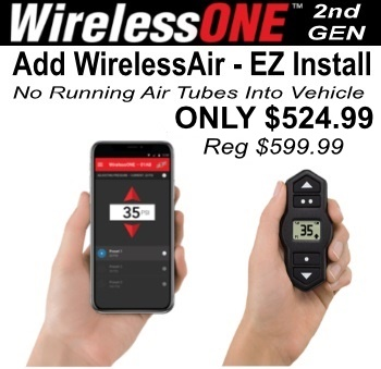 AirLift WirelessONE Air Source
