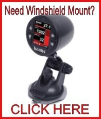 Banks Power Windshield Single iDash Holder