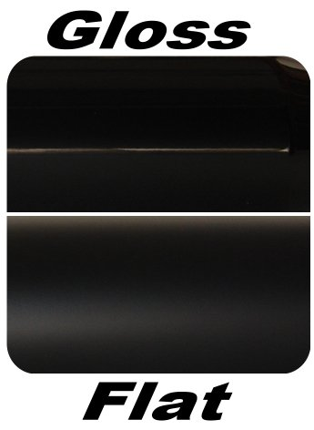 Assured Performance Black Exhaust Tip Gloss vs Matte