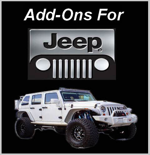 Click Here for Add-Ons for Jeeps