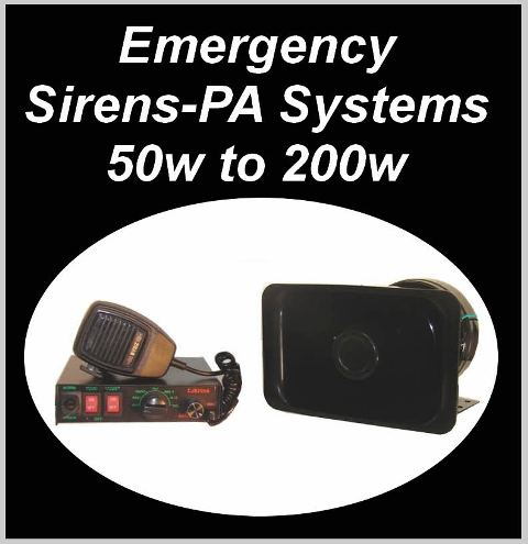 Click Here for Siren Kits