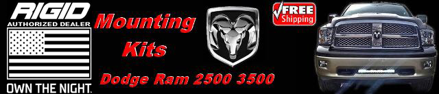 Dodge Ram Mounting Kits