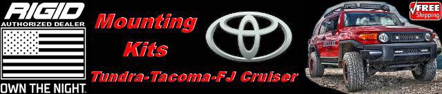 Toyota Mounting Kits