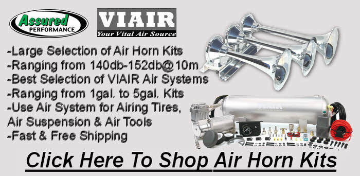 Click Here for Air Horn Kits