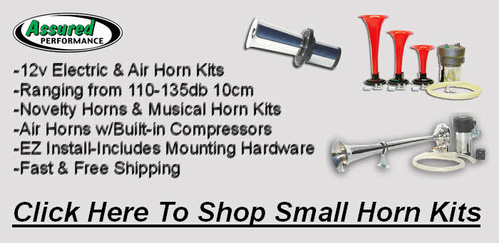 Click Here for Small Electric and Air Horn Kits