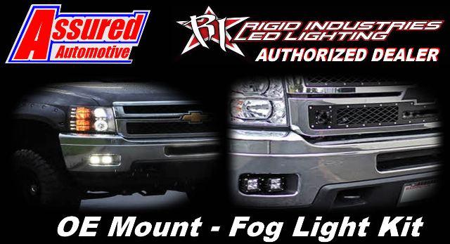 Rigid Industries 40337 Fog Light Kit for Chevrolet Silverado