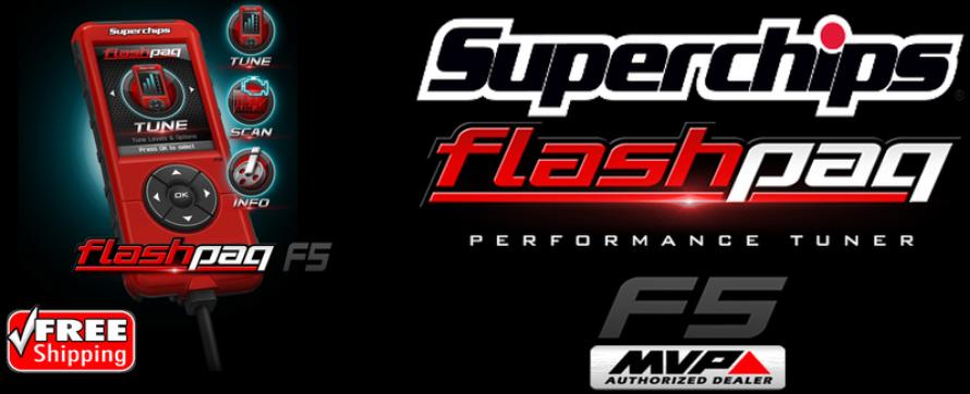 Superchips 2845 Flashpaq F5
