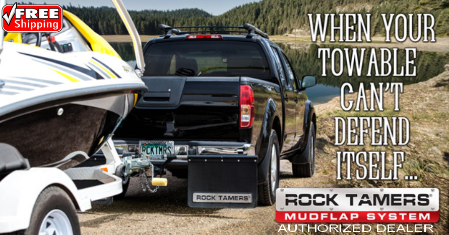 Rock tamers Mud Flaps