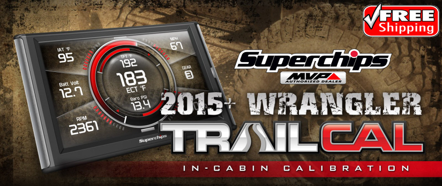 Superchips 41050 TrailCal