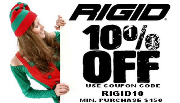 Rigid 10% Off Sale