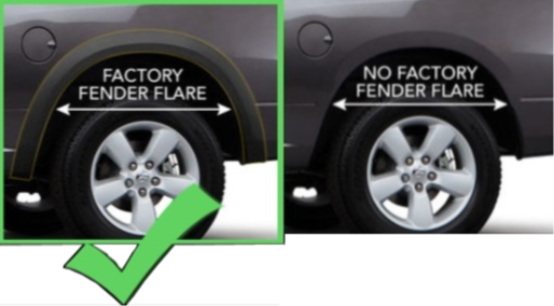 DODGE-RAM-Factory-Fender Flares
