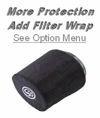 Add Protective Filter Wrap