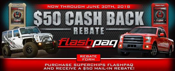 Superchips $25 Rebate Offer