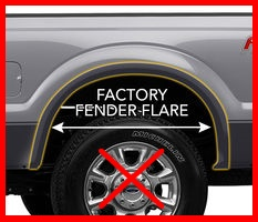 Ford-NO Fender Flares